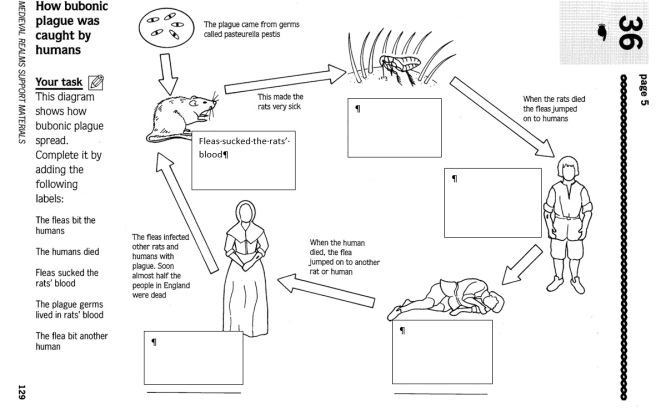 Worksheets On The Black Death Used For Lower Ability Students